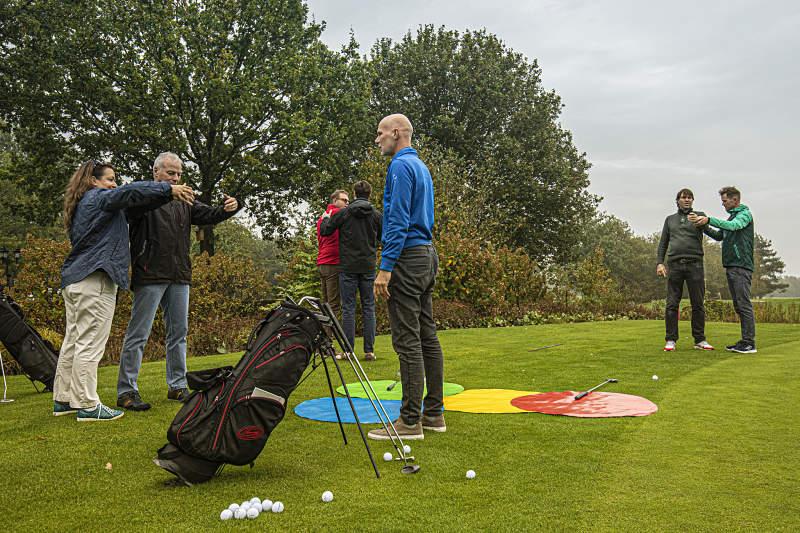 Jeroen Jonk tijdens Ijzeren Hemd Golf
