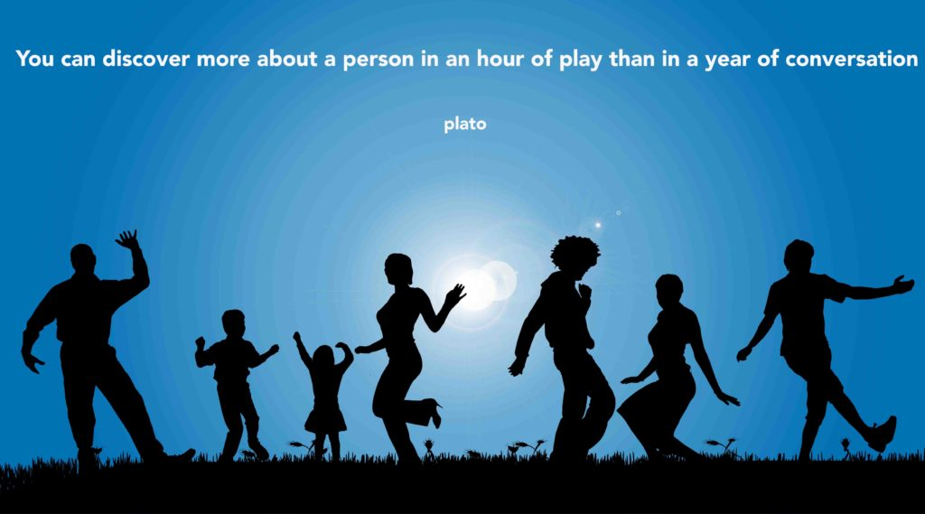 Life should be lived as play - plato